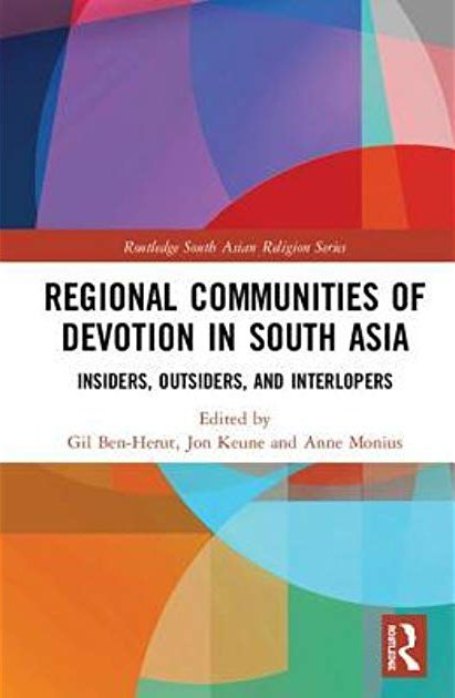 Regional Communities of Devotion in South Asia book cover